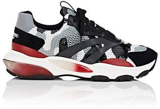 Valentino Men's Bounce Camouflage Mesh Sneakers