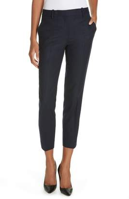 Theory Treeca Flannel Ankle Pants