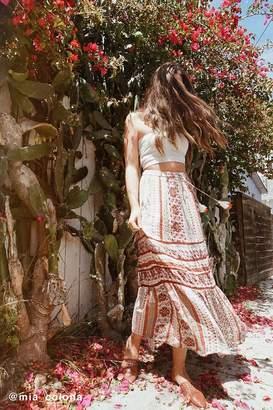 Urban Outfitters Esme Tassel Maxi Skirt