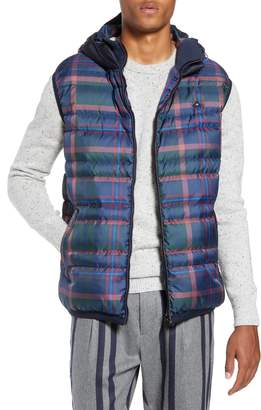 Scotch & Soda Reversible Quilted Hooded Vest