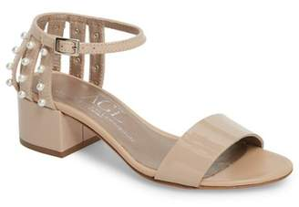 Attilio Giusti Leombruni Embellished Ankle Strap Sandal (Women)