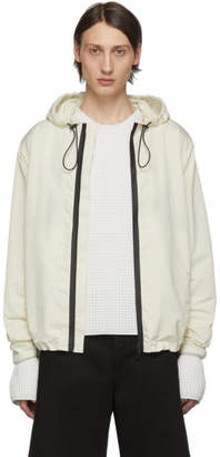 Bottega Veneta Off-White Nylon Jacket