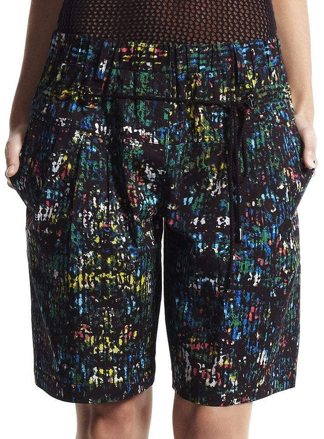 Derek Lam for designation splatter shorts - women's