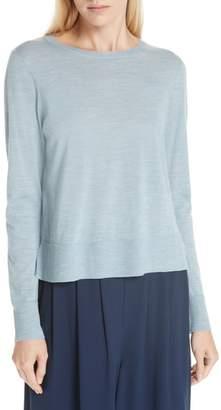 Eileen Fisher Boxy Merino Wool Sweater