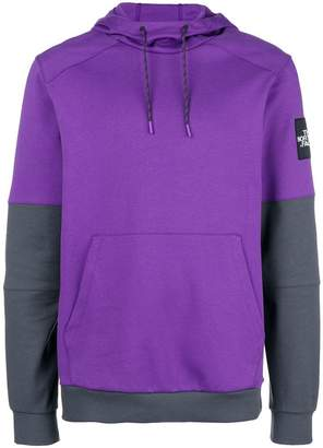 The North Face contrast sleeve hoodie