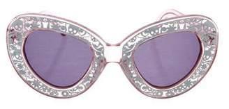 Karen Walker Intergalatic Tinted Sunglasses