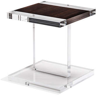 Interlude Heath Acrylic Side Table - Eucalyptus