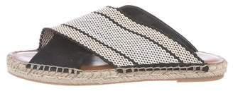 Diane von Furstenberg Round-Toe Slide Sandals