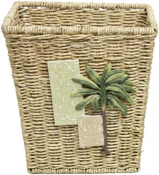 Bacova Guild Citrus Palm Wastebasket