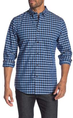 Nordstrom Long Sleeve Gingham Regular Fit Shirt