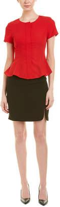 WYKY Wyky 2Pc Blouse & Skirt Set