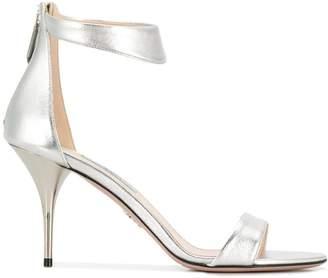 8ed9d4bcfe9c Silver High Heel Sandals For Women - ShopStyle UK