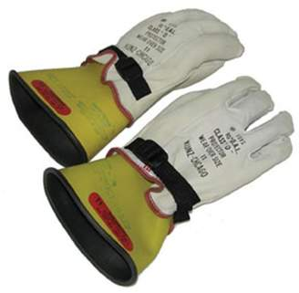 Equipment OTC Tools & OTC-3991-12 Class 0 Glove And Leather Protective Glove Set - Large