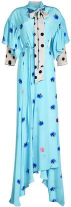 Natasha Zinko Printed Silk Gown
