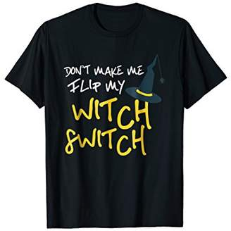Witch Switch Funny Halloween Costume Ghost T Shirt