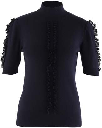 See by Chloe Lace detail top
