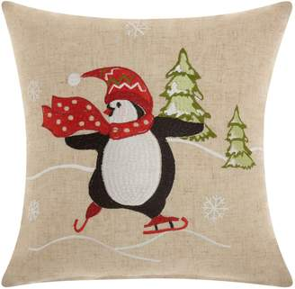 Original Penguin Mina Victory Home for the Holidays Throw Pillow