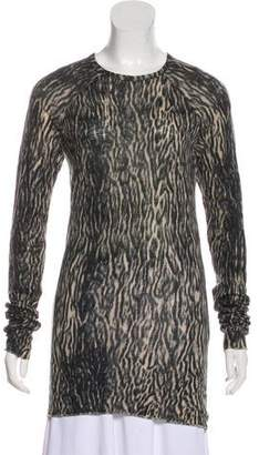 Haider Ackermann Printed Long Sleeve Top