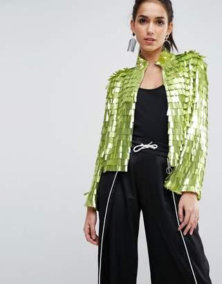 Asos DESIGN Sequin Kimono Jacket