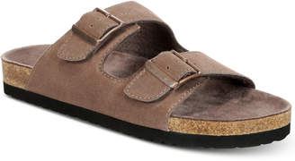 Dr. Scholl's Men's Fin Suede Slip-On Sandals Men's Shoes