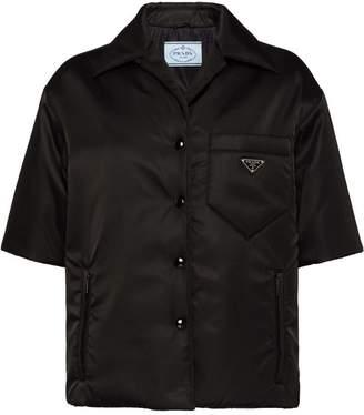 Prada shell shirt jacket