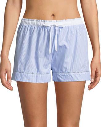Lejaby Maison Ladder Stitch-Trim Pyjama Shorts