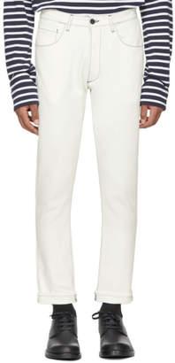 Sunnei White Skinny Jeans