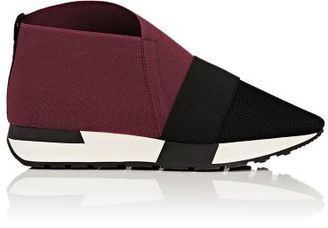 Balenciaga Women's Mesh & Elastic Sneakers-DARK GREY $565 thestylecure.com
