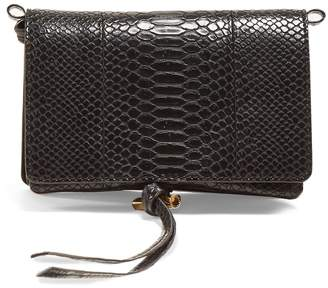 Stella McCartney Alter snakeskin-effect faux-leather bag