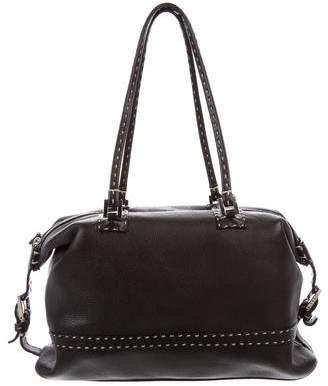 Fendi Leather Selleria Bag