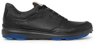 Ecco Biom Hybrid 3 Leather Golf Shoes - Black