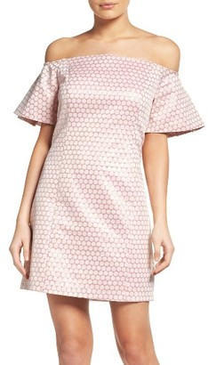 Women's Laundry By Shelli Segal Off The Shoulder Sheath Dress $168 thestylecure.com