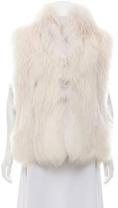 J. Mendel Textured Fur Vest