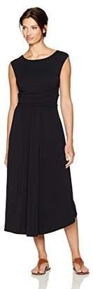 Mod-o-doc Women's Cotton Modal Shirred Waist Tank Dress