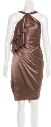 Versace Silk Halter Dress