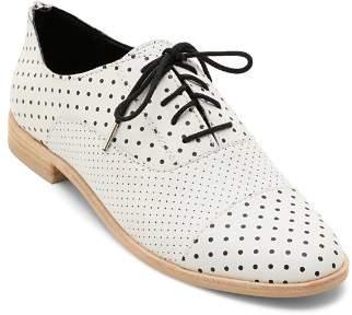 Dolce Vita Women's Polo Polka Dot Leather Oxfords