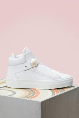 Nicholas Kirkwood Pearlogy Leather Sneakers