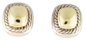 David Yurman Two-Tone Albion Earrings