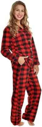 Angelina Cozy Fleece Pajama Set _AQWDOT_M