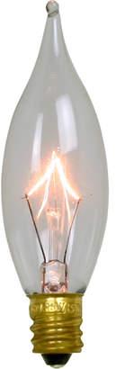 Rejuvenation 15W Clear Flame-tip Candelabra Bulb