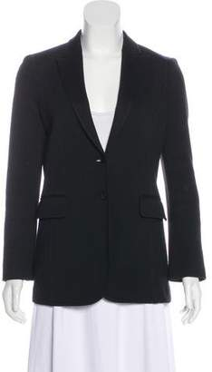 Gucci Notched-Lapel Long Sleeve Blazer