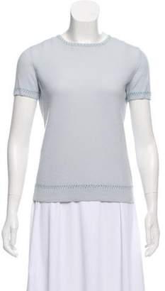 Loro Piana Cashmere Short Sleeve Top