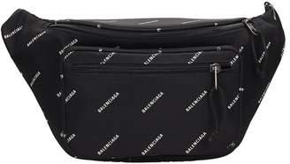 Black Nylon Explorer Beltbag