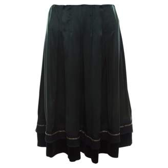 Chloé Green Silk Skirts