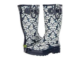 Western Chief Ikat Damask Women's Rain Boots