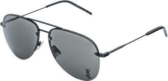 Saint Laurent Unisex 59Mm Sunglasses
