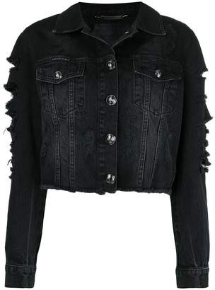 Philipp Plein Only Patches denim jacket