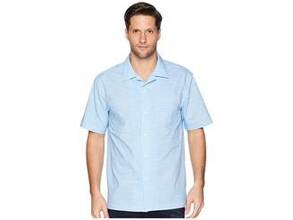 Magna Ready Short Sleeve Magnetically-Infused Dress Shirt - Spread Collar