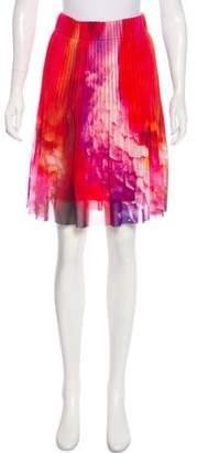 Vivienne Tam Knee-Length Accordion Skirt