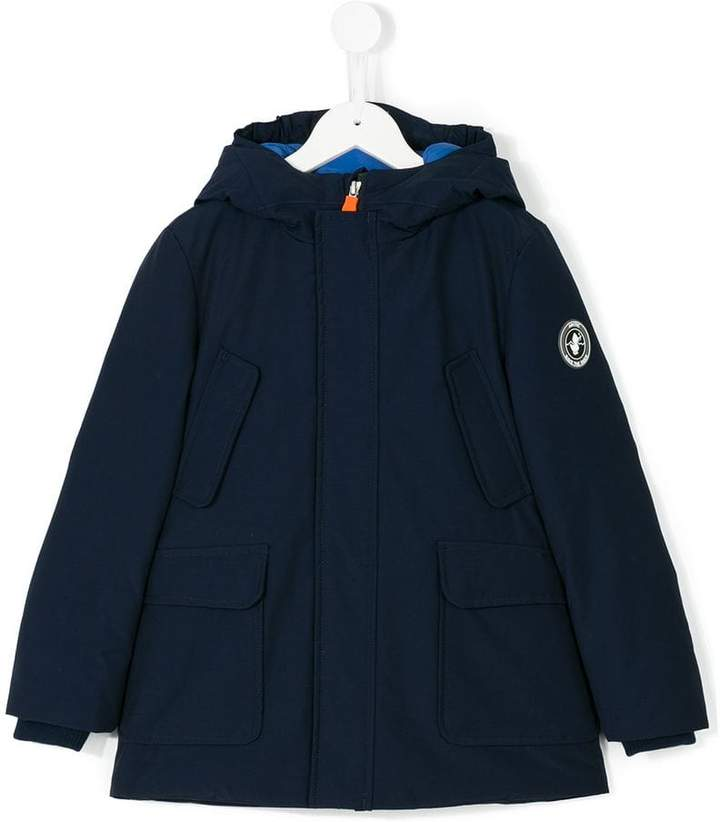 Save The Duck Kids concealed zip coat